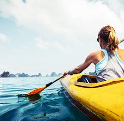 kayaking vacation